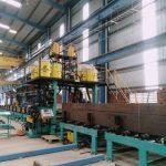 Pull Through H-Beam Welding Machine Line